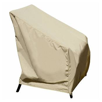 High Back Chair Cover with Elastic Hem