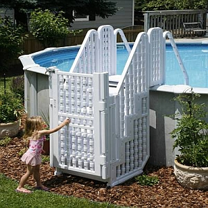 Above Ground Pool Ladders That Can Save A Life Swimming Pool Blog