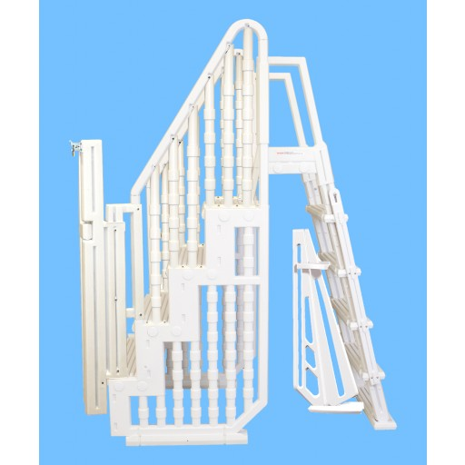 Easy In Pool Entry Stair & Ladder & Gate - NE132