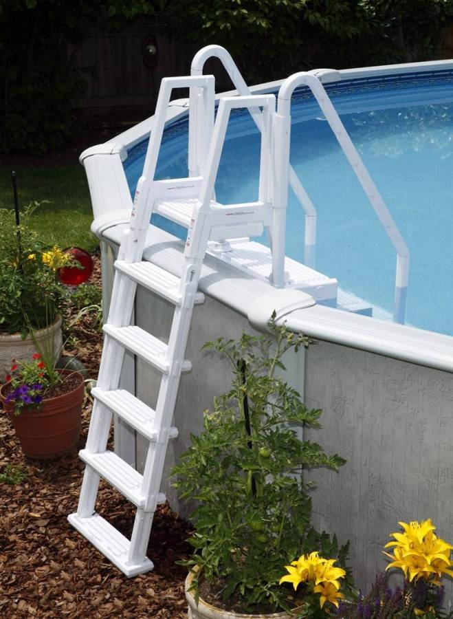 Optional Outside Entry Ladder