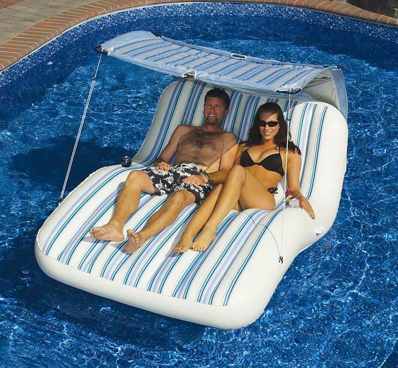 Luxury Cabana Pool Float Nt1735