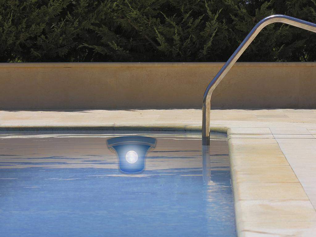 Solar Powered Led Pool Light Na4910