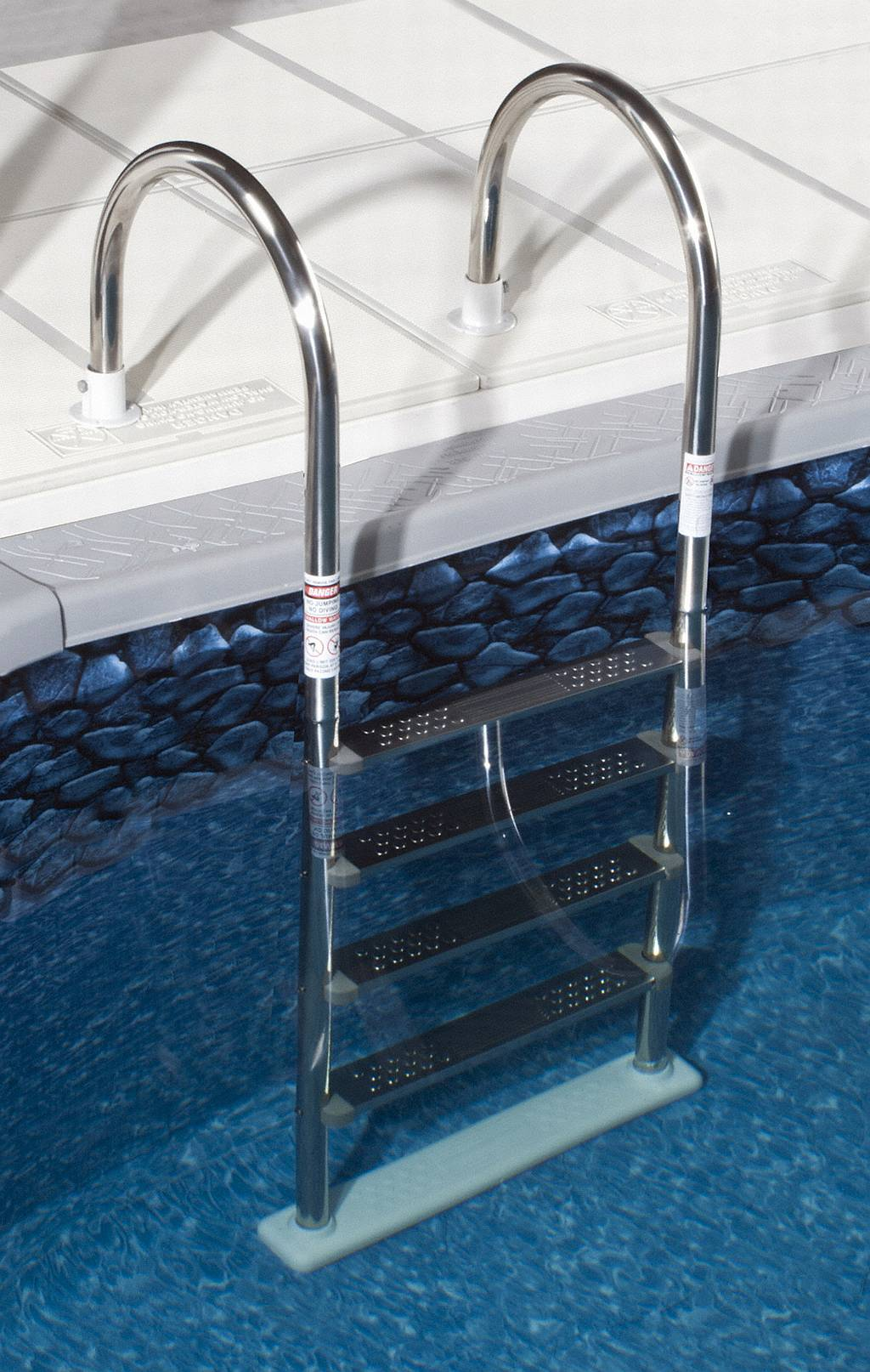 Above Ground Super Stainless Steel In Pool Ladder Ne1145