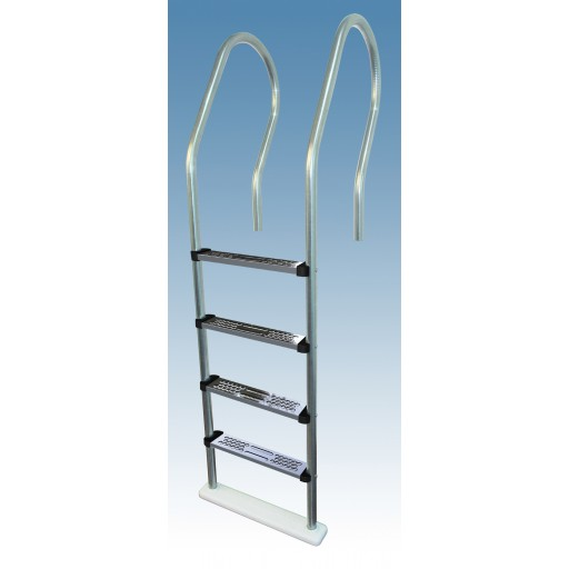 Stainless Steel Tread Reverse Bent In-Pool Ladder