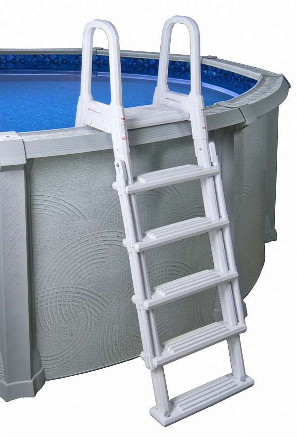 A frame flip up pool ladder ne1222 for Pool ladder