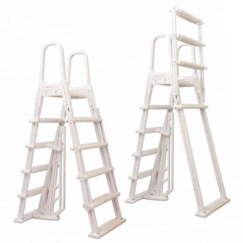 A-Frame Flip-up Pool Ladder - NE1222