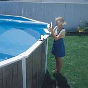 Above Ground Solar Pool Cover Reels Folders Amp Saddles