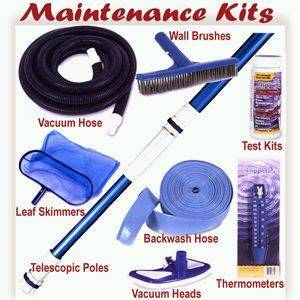 Swimming Pool Maintenance Cleaning Equipment & Pool Equipment
