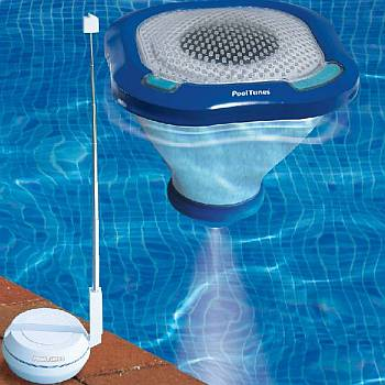 Pool Tunes Wireless Floating Speaker And Light Na4472