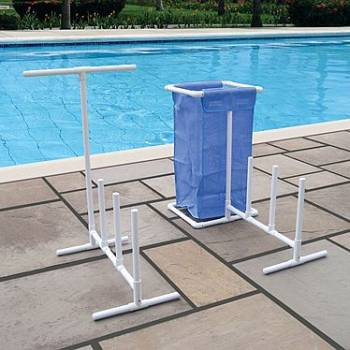 Raft Float And Towel Caddy With Hamper Nt127