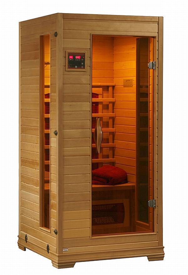 buena vista one person sauna sa140x. Black Bedroom Furniture Sets. Home Design Ideas