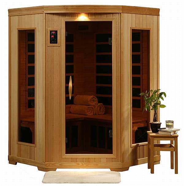 A healthy argument for home saunas swimming pool blog for Home sauna