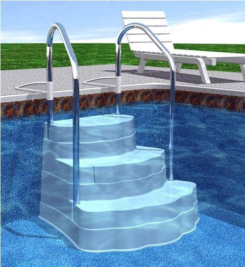Spring Pool Improvements Pool Steps And Ladders Swimming Pool Blog