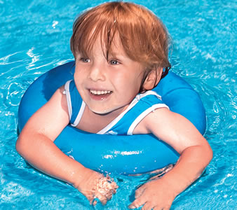 Swim Tee Trainer Safety Flotation Device For Children