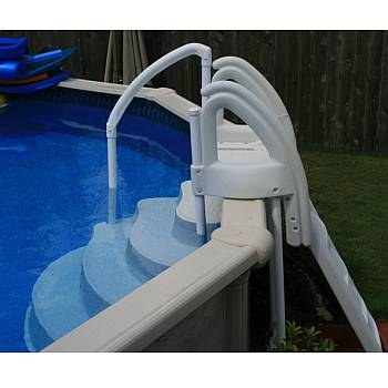 wedding cake step attachment - Above Ground Pool Outside Steps