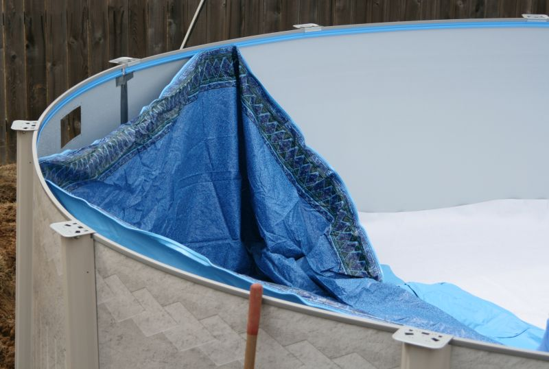 Above ground swimming pool installation guide for Pool liner installation