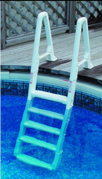 Stylish home design ideas pool steps above ground for Above ground pool ladder ideas