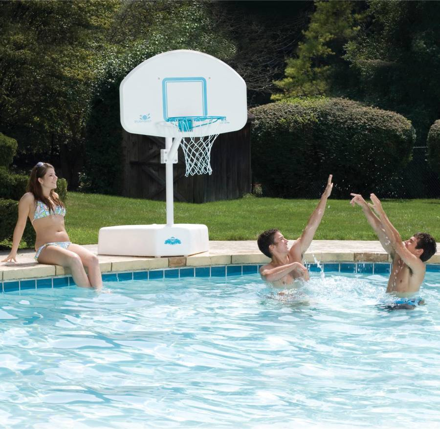 Splash and shoot basketball game for in ground swimming pools b600 - Pool basketball ...