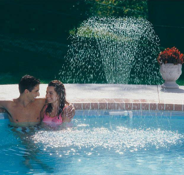 Wonderfall Single Tier Wall Mounted Pool Fountain F150