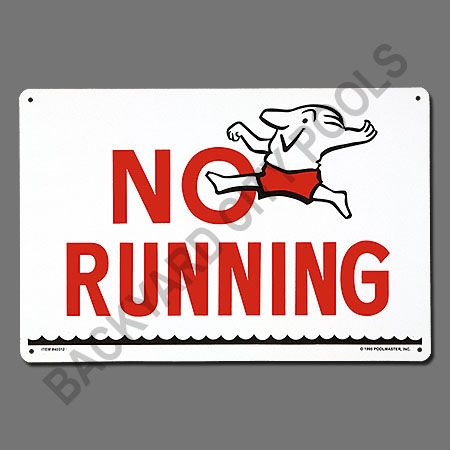 no running cartoonNo Running Cartoon