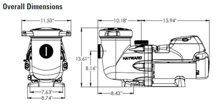 hayward super pump vs manual