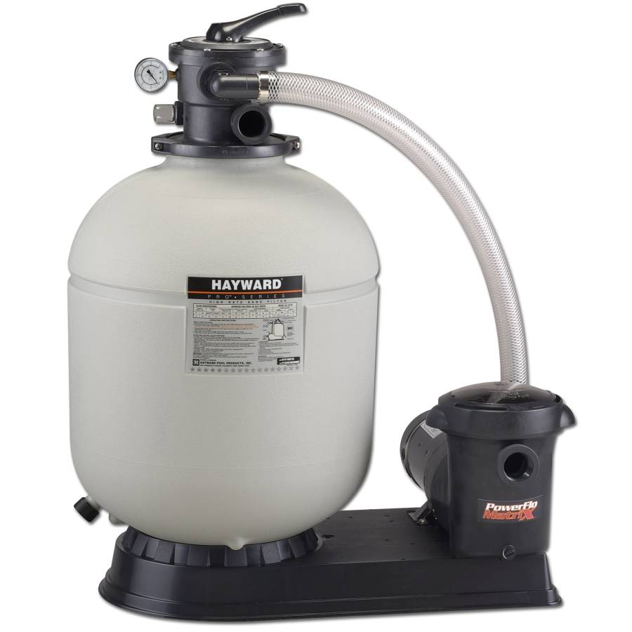 Hayward Powerflo 1 5hp Amp 20 Quot Pro Series Sand Filter System
