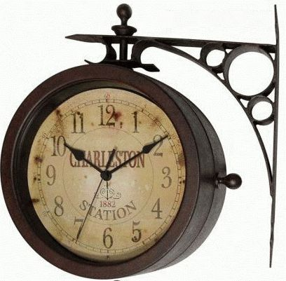 Charleston Indoor-Outdoor Clock - 12430CT-RUV2