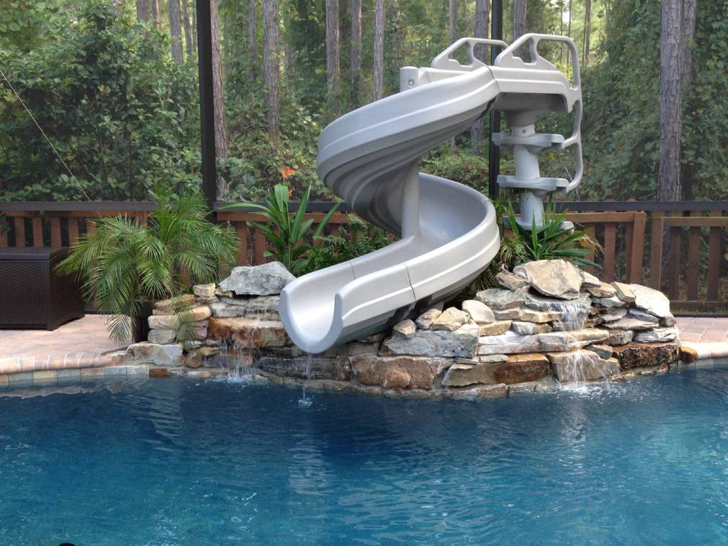 G Force 360 Degree Pool Slide G4c