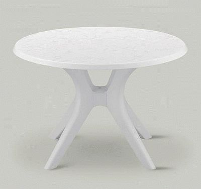 Beau KETTALUX 46in Round Poolside Table (Click To Enlarge)