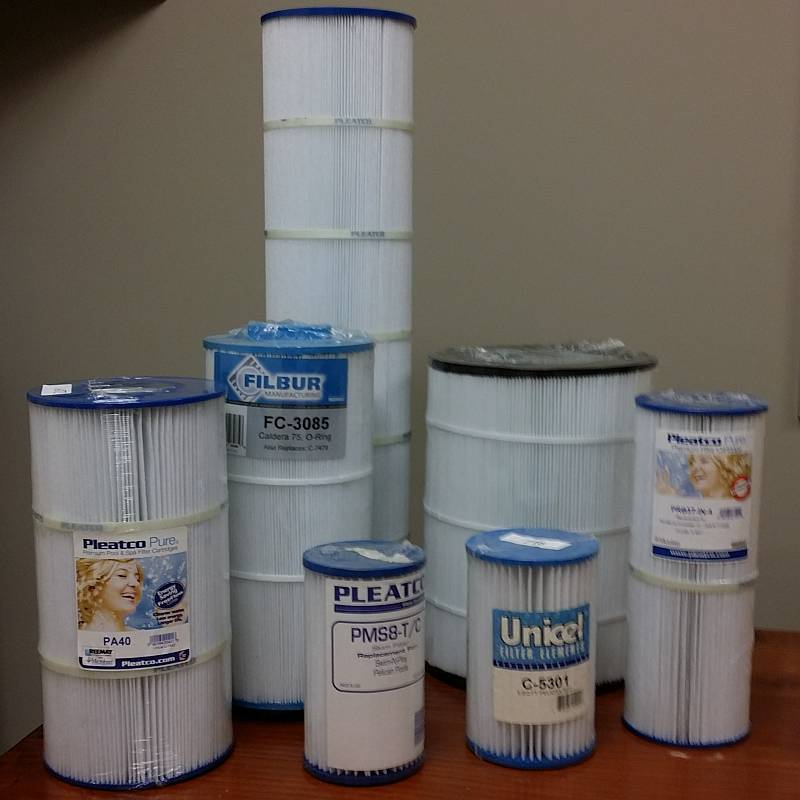 Walmart Replacement Filter Cartridges made by Pleatco Unicel or
