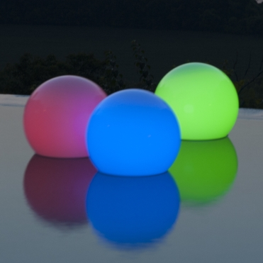 LED Color Changing Floating Orb Light -8012