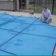 Safety Pool Cover Maintenance