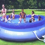 Inflatable Above Ground Swimming Pool - Fast Set 15ft x 42in