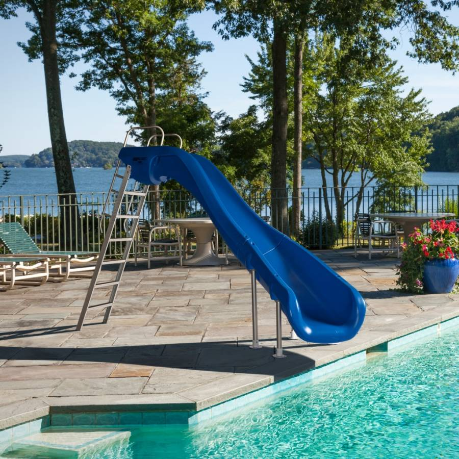 rogue2 grand rapids pool slide 610 209 58 swimming pools slide by sr