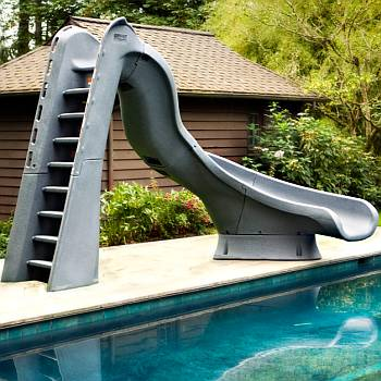 in ground pools with slides. Interesting Ground Slides For Swimming Pools Intended In Ground With