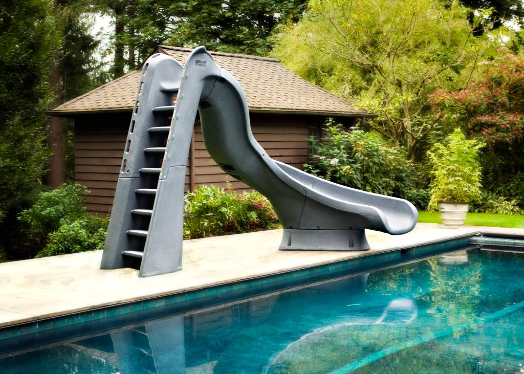 Swimming Pool Slides are designed for adults and children of all ages.