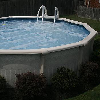 Solar Pool Covers for Above Ground Pools - BackyardCityPools.com