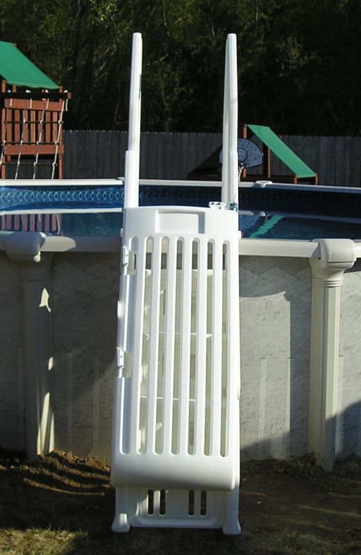 Neptune Deluxe Pool Step With Gate Ne115 Ne115t
