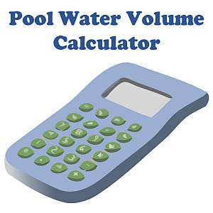 Pool water volume calculator in gallons with size charts - How to calculate swimming pool volume ...